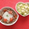 白菜と豆腐の簡単サラダ